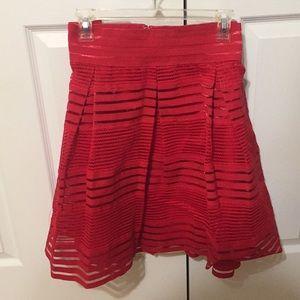 Torrid Hot Pink A-Line Skirt